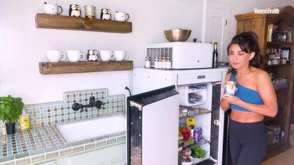 Marisol Nichols' Chic Fridge Is Packed With Delicious Veggies   Fridge Tours
