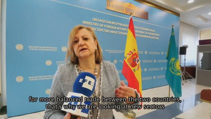 Spain seeks enriched economic ties with Kazakhstan