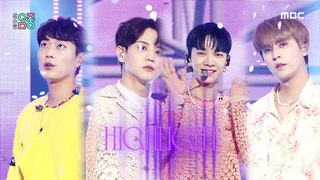 [HOT] Highlight - NOT THE END, 하이라이트 - 불어온다 Show Music core 20210515