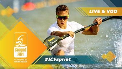 2021 ICF Canoe Kayak Sprint World Cup Szeged Hungary / Day 4: Finals