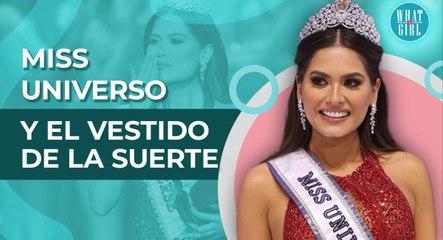 Miss Universo 2021: La historia detrás del vestido rojo de Miss México | Miss Universe 2021: The story behind Miss Mexico's red dress