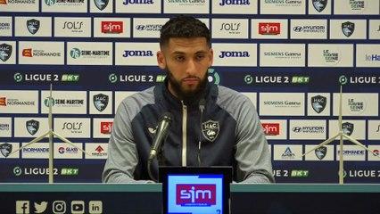 Après HAC - Troyes (3-2), réactions de Nabil Alioui