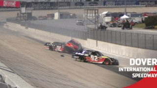 Multi-car wreck brings out red flag in Stage 2 at Dover