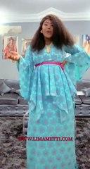 Photos et vidéos : Comme une grande dame, Amina Saleh a passé la Korité dans la simplicité