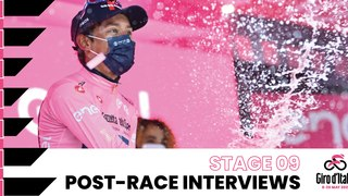 Giro d'Italia 2021 | Stage 9 | Interviews post race