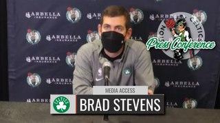 Brad Stevens Pregame Interview   Celtics vs Knicks