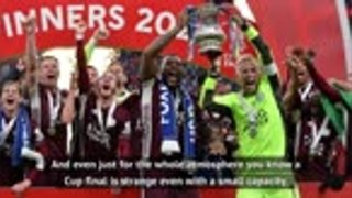'An unbelievable day' - King revels in Leicester Cup win