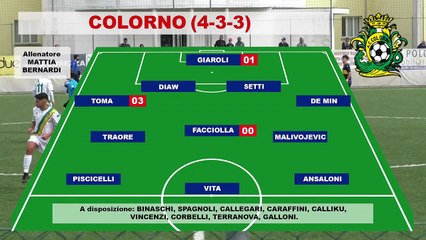 Colorno - Savignanese 1-2, gli highlights