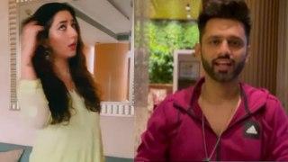 Rahul Vaidya  की GF Disha Parmar ने ऐसे किया उन्हें परेशान; Watch video | FilmiBeat
