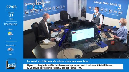 17/05/2021 - La matinale de France Bleu Paris