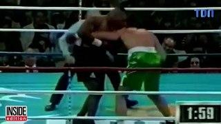 Un voyageur temporel assistait à un combat de Mike Tyson en 1995 ?