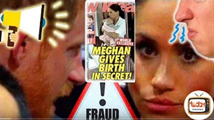 Harry 'questioned' Meghan about 'second child's biological father' with horrifying secret