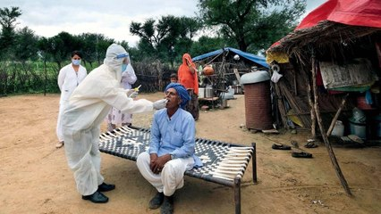 Know why villages adjacent big cities are most infected