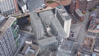 Google Maps : Un bâtiment fantôme découvert au-dessus de Manchester...