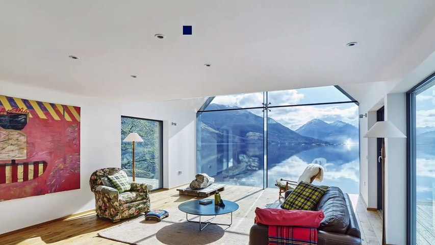 Stunning Highland home on the shores of Loch Duich with spectacular views to Eilean Donan