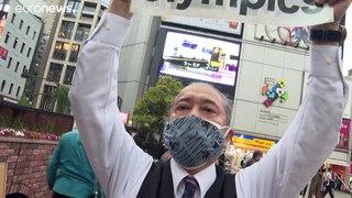 Japoneses contra os Jogos Olímpicos este verão