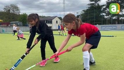 Journée d'initiation au hockey pour les filles