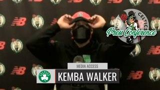 Kemba Walker Shootaround Interview | Celtics vs Wizards