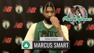 Marcus Smart Shootaround Interview | Celtics vs Wizards