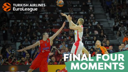 Final Four moments: Spanoulis comes alive to save semis, 2015