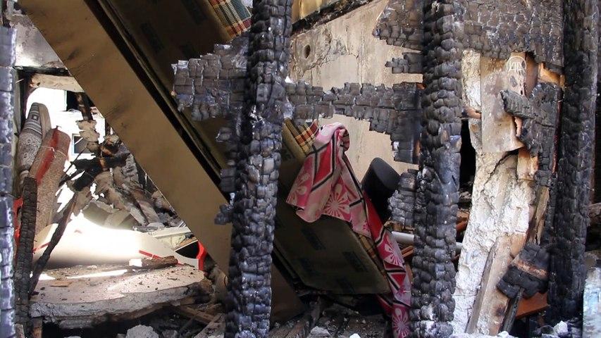HATAY - Ateşe verdiği evinde yanarak ölen gencin annesi olay gününü anlattı