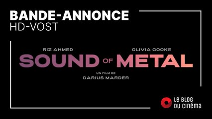 SOUND OF METAL : bande-annonce [HD-VOST]