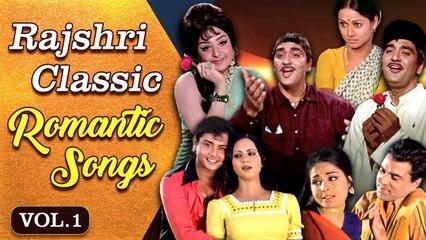 Rajshri Classic Romantic Songs   VOL-1   Ankhiyon Ke Jharokhon Se   Hindi Romantic Hits   Jukebox