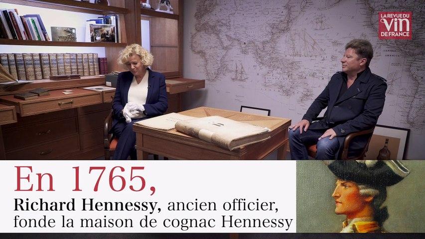 Plongée dans les archives de la maison de cognac Hennessy