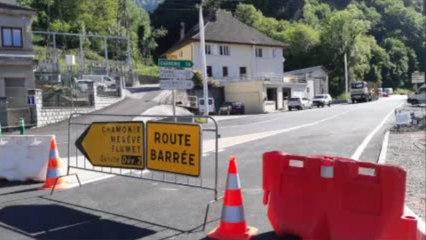 Réouverture de la route des Gorges de l'Arly en Savoie