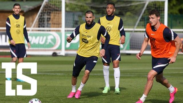 Préparation de l'équipe de France de Football