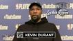 Kevin Durant Game 5 Postgame Interview | Celtics vs Nets