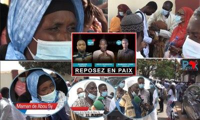 La levée du corps des victimes de Leral TV : la réaction de la famille de Abou Mamadou Sy