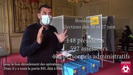La logistique d'une élection