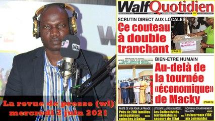 Revue de presse  lue et commentée en wolof par Abdoulaye Bob