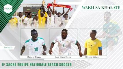 6e sacre équipe nationale Beach Soccer #WakhSaKhalate #Senegal