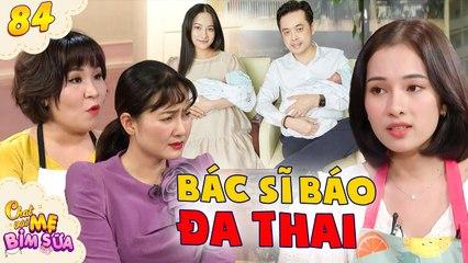 Tâm Sự Mẹ Bỉm Sữa #84 I Bác sĩ báo MANG ĐA THAI cùng lúc, vợ nhạc sĩ Dương Khắc Linh TÁ HỎA sợ hãi