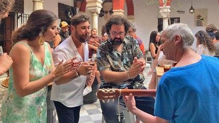 Miguel Poveda con El Chusco, Soleá Morente y Lele en Damajuana - Jerez