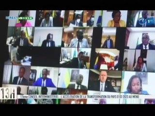 RTG/ 17e conseil interministériel - l'accélération de la transformation du Gabon d'ici 2023