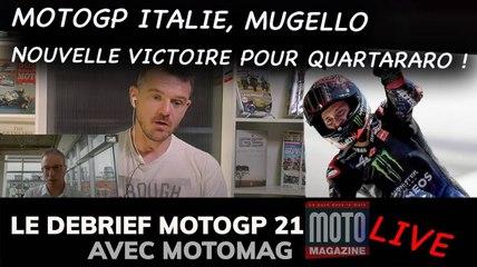 Quartararo brille sur les collines du Mugello (Italie) - Debrief MotoGP 2021 (Motomag)