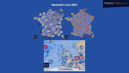 bulletin meteo du jeudi 3 juin 2021