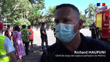 Les cadets de la sécurité civile en action dans les écoles HITIMAHANA