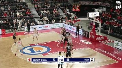 Dijon Highlights vs. Bourg-En-Bresse