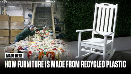 Made Here: How Furniture is Made from Recycled Plastic