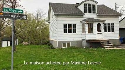 Le projet de démolition et de reconstruction de Maxime Lavoie. (Photos gracieuseté)