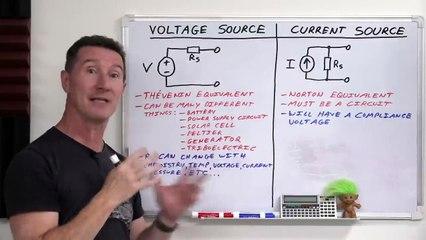 EEVblog 1397 - DC Voltage & Current Source Theory