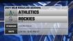 Athletics @ Rockies Game Preview for JUN 04 -  8:40 PM ET