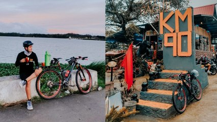 This travel junkie started biking to cure his wanderlust during the pandemic
