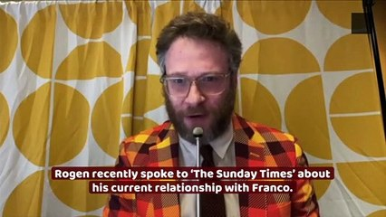 """Seth Rogen Has """"No Plan"""" to Ever Work With James Franco"""