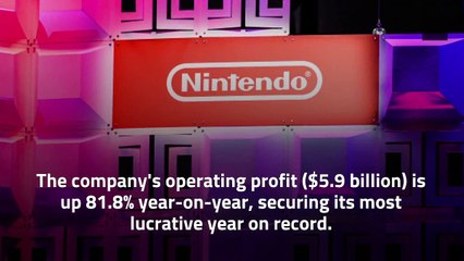 Nintendo Records Most Profitable Year Ever With Switch Sales Approaching 85 Million