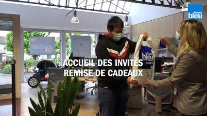 Visite virtuelle de France Bleu Auxerre